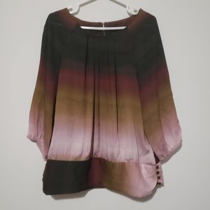 Violet&Claire blouse. Nice degraded colosize large